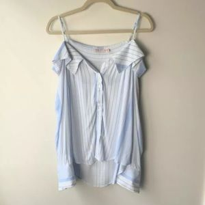 Tempted Los Angeles Top Size Large Strappy